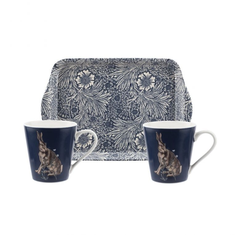 Morris and Co for Pimpernel Wightwick Mug & Tray Set